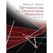 Optimization in Operations Research by Rardin, Ronald L., 9780134384559