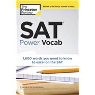 SAT Power Vocab by PRINCETON REVIEW, 9780804124560