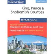 The Thomas Guide King, Pierce & Snohomish Counties Streetguide by Rand McNally, 9780528874567