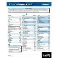 ICD-10 2017 Snapshot Coding Card Pulmonary by American Medical Association, 9781622024575