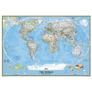 World Classic Wall Map by National Geographic Maps, 9780792294580