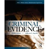 Criminal Evidence by Ingram; Jefferson, 9780323294584