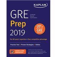 Kaplan GRE Prep 2019 by Kaplan, Inc., 9781506234588