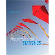 Essentials of Statistics by Triola, Mario F., 9780321924599