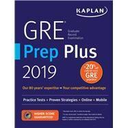 Gre Prep Plus 2019 by Kaplan Test Prep, 9781506234601
