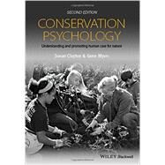 Conservation Psychology by Clayton, Susan; Myers, Gene, 9781118874608