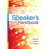 The Speaker's Handbook, Spiral bound Version by Sprague, Jo; Stuart, Douglas; Bodary, David, 9781285444611