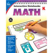 Math, Grade K by Carson-dellosa Publishing, 9781483824611