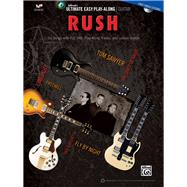 Rush: Six Songs With Full Tab, Play-along Tracks, and Lesson Videos, Easy Guitar Tab by Rush (COP), 9781470614614