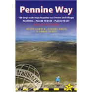 Pennine Way, 4th British Walking Guide: planning, places to stay, places to eat; includes 138 large-scale walking maps by Carter, Keith; Scott, Chris; Greig, Stuart, 9781905864614