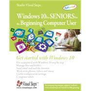 Windows 10 for Seniors for the Beginning Computer User by Studio Visual Steps, 9789059054615