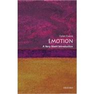 Emotion: A Very Short Introduction by Evans, Dylan, 9780192804617