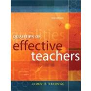 Qualities of Effective Teachers by Stronge, James H., 9781416604617