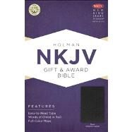NKJV Gift & Award Bible, Black Imitation Leather by Unknown, 9781433604621