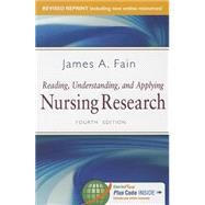 Reading, Understanding, and Applying Nursing Research by Fain, James A., 9780803644632