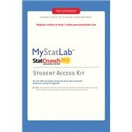 MyStatLab -- Standalone Access Card by Pearson Education, 9780321694645