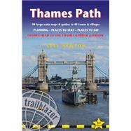 Trailblazer Thames Path by Newton, Joel, 9781905864645