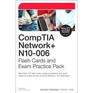 CompTIA Network+ N10-006 Flash Cards and Exam Practice Pack by Sequeira, Anthony, 9780789754646