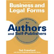Business and Legal Forms for Authors and Self-publishers by Crawford, Tad; Fitzgerald, Stevie (CON); Gross, Michael (CON), 9781621534648