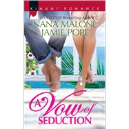 A Vow of Seduction Hot Night in the Hamptons\Seduced Before Sunrise by Malone, Nana; Pope, Jamie, 9780373864652