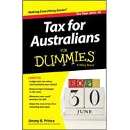 Tax for Australians for Dummies 2015-16 by Prince, Jimmy B., 9780730324652