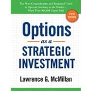 Options As a Strategic Investment by McMillan, Lawrence G., 9780735204652