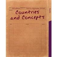 Countries and Concepts Politics, Geography, Culture by Roskin, Michael G., 9780205854653