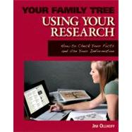 Using Your Research by Ollhoff, Jim, 9781616134655