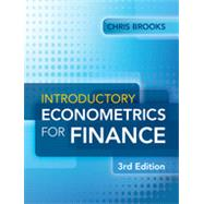 Introductory Econometrics for Finance by Brooks, Chris, 9781107034662