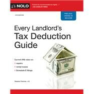 Every Landlord's Tax Deduction Guide by Fishman, Stephen, 9781413324662