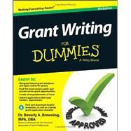 Grant Writing for Dummies by Browning, Beverl A., Dr., 9781118834664