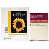 Campbell Biology, Books a la Carte Plus MasteringBiology with eText -- Access Card Package by Reece, Jane B.; Urry, Lisa A.; Cain, Michael L.; Wasserman, Steven A.; Minorsky, Peter V.; Jackson, Robert B., 9780134454665