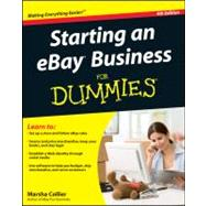 Starting an eBay Business For Dummies by Collier, Marsha, 9781118004678