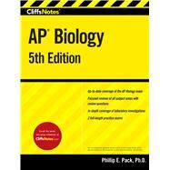 Cliffnotes: AP Biology by Pack, Phillip E., Ph.D., 9780544784680