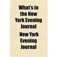 What's in the New York Evening Journal by New York Evening Journal, 9781153754682