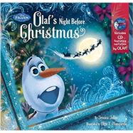 Frozen Olaf's Night Before Christmas Book & CD by Disney Book Group; Disney Storybook Art Team, 9781484724682