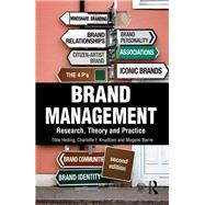 Brand Management: Research, Theory and Practice by Heding; Tilde, 9781138804685