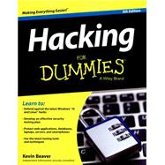 Hacking for Dummies by Beaver, Kevin; Stiennon, Richard, 9781119154686