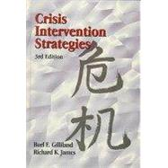 Crisis Intervention Strategies-w/ 2 DVDs by James, 9781133904687