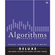 Algorithms, Fourth Edition (Deluxe) Book and 24-Part Lecture Series by Sedgewick, Robert; Wayne, Kevin, 9780134384689
