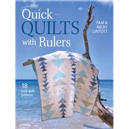 Quick Quilts With Rulers by Lintott, Pam; Lintott, Nicky, 9781446304693