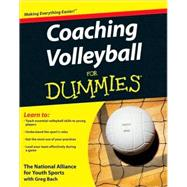 Coaching Volleyball For Dummies by Unknown, 9780470464694