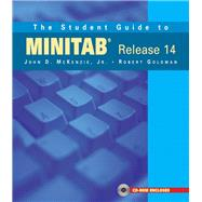 The Student Guide to MINITAB Release 14 + MINITAB Student Release 14 Statistical Software (Book + CD) by McKenzie, John; Goldman, Robert; Minitab Inc., A., 9780201774696