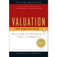 Valuation, + Download  Measuring and Managing the Value of Companies by Unknown, 9780470424698