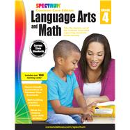 Spectrum Language Arts and Math, Grade 4 by Spectrum, 9781483814704