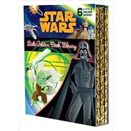 Star Wars Little Golden Book Library by Smith, Geof (ADP); Carbone, Courtney (ADP); Nicholas, Christopher (ADP); Spaziante, Patrick; Martinez, Heather, 9780736434706
