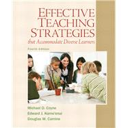 Effective Teaching Strategies that Accommodate Diverse Learners by Coyne, Michael D.; Kame'enui, Edward J.; Carnine, Douglas W., 9780137084708