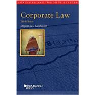Corporate Law by Bainbridge, Stephen, 9781609304713