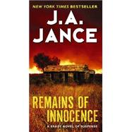 Remains of Innocence by Jance, J. A., 9780062134714
