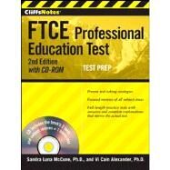 CliffsNotes FTCE Professional Education Test, with CD-ROM by Luna McCune, Sandra; Cain Alexander, Vi, 9781118014721